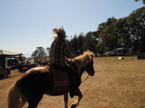 Fall fair horsing